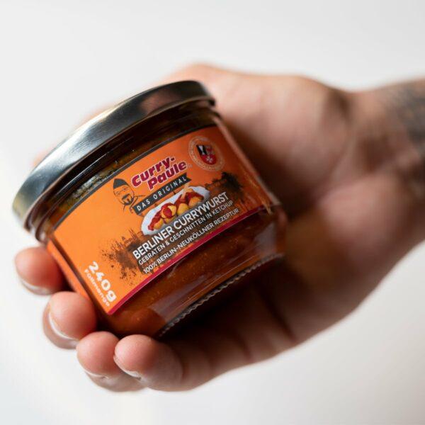 Currywurst im Glas von Curry-Paule und Dr.Sindsen